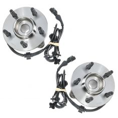 95-05 Explorer Front 4x4 Hub & Bearing LH or RH (MOTORCRAFT) PAIR