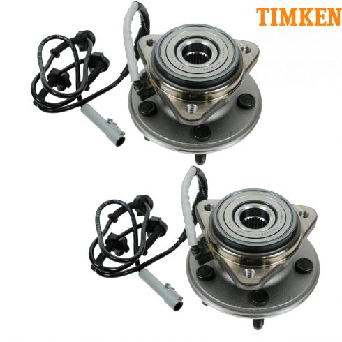 95- 01 Ford Explorer: 02 Sport,Sprot Trac, 97-01 Mountaineer 4WD Frt Hub & Bearing (Timken) PAIR