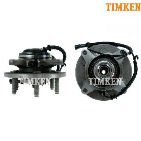 Tkshs00409 Ford F150 Lincoln Mark Lt Front Wheel Bearing Hub Assembly Pair
