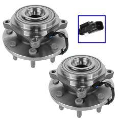 12-14 Ram 2500, 3500 w/4WD Front Wheel Bearing & Hub Assy PAIR (Timken)