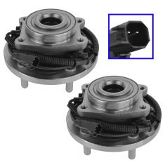 08-11 Chrysler, Dodge, Ram Mini Van; 09-13 VW Routan Rear Wheel Hub & Bearing Pair (Timken)