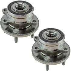 11-16 Ford Explorer; 13-16 Explorer Police Interceptor Front Wheel Hub Pair (Timken)