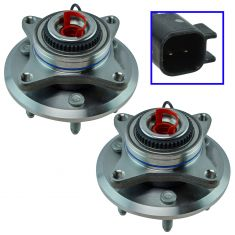 11-14 Expedition, F-150, Navigator Front Wheel Hub Pair (Timken)