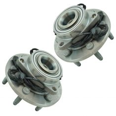 14-17 Chevy 1500 4WD Front Wheel Hub & Bearing Assembly LH &  RH Pair (Timken)