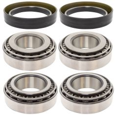MileMateSet HM212049, HM21201, 3782, 3720 Inner & Outer FF Steer Bearing & Seal Kit (6pc)