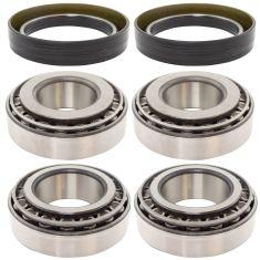 MileMateSet HM212049, HM21201, 3782, 3720 Inner & Outer FF Steer Bearing & Seal Kit (6pc)