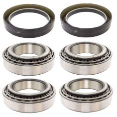 MileMate Set 580, 572, 594A,592A R Drive Inner & Outer Bearing with Seal 6pc Kit