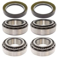 MileMateSet HM212049, HM212011, HM218248, HM218210 Inner & Outer N Trailer Bearing & Seal 6pc Kit