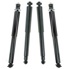 99-04 Jeep Grand Cherokee (w/o Elect Sus) Front & Rear Shock Absorber (Set of 4)