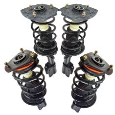 97-11 GM Mid Size FWD Front & Rear Strut/Shock Absorber Assemblies (Set of 4)