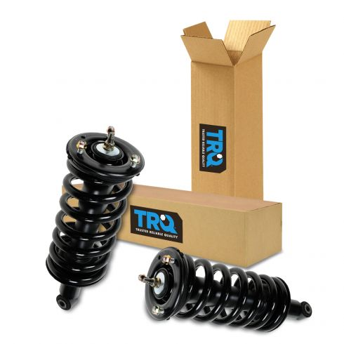 2 Front Complete Struts With Springs Fit Titan Armada QX56 Limited Warranty