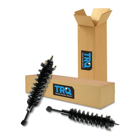 03-11 4Run (exc X-REAS); 07-12 Fj Crsr; 05-11 Tacma (4WD or Pre Runner) Front Strut & Spring PAIR
