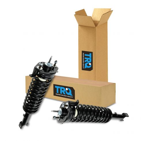 NEW Rear Loaded Strut Coil Spring Assembly PAIR FOR LISTED STRATUS /& SEBRING