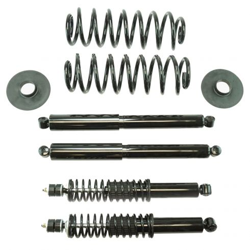 4WD Navigator Air to Coil Spring Conversion Kit Front Shocks for Expedition