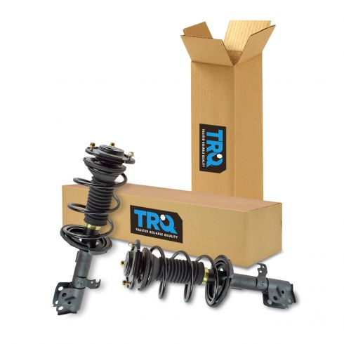 Front Quick Complete Struts /& Coil Spring Assemblies Compatible with 2009-2013 Toyota Matrix Pair
