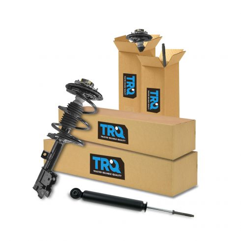 2 New Rear Shocks with Warranty Free Shipping Fit Murano