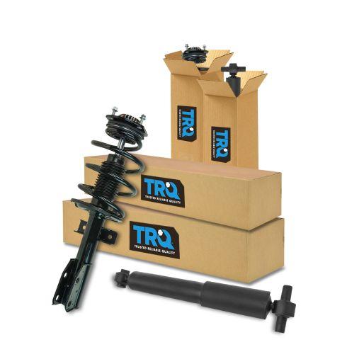 07-12 Acadia; 07-10 Outlook; 08-12 Enclave; 09-12 Traverse Front & Rear Complete Strut & Shock Kit