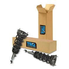 03-07 Infiniti G35 Coupe RWD; 03-09 Nissan 350Z Front Shock & Spring Assembly Pair