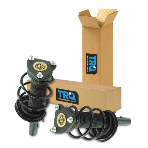 12-13 Ford Focus (exc Electric) Front Strut & Spring Assembly Pair