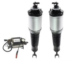 04-10 Audi A8 Quattro Air Ride Compressor w/Front Shock Kit (3 Piece Set)