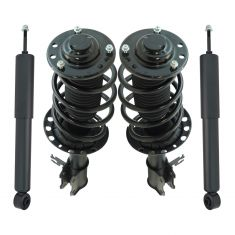 03-09 Saab 9-3 FWD (exc Conv) Front Strut & Spring Assembly & Rear Shock Kit (4pc)