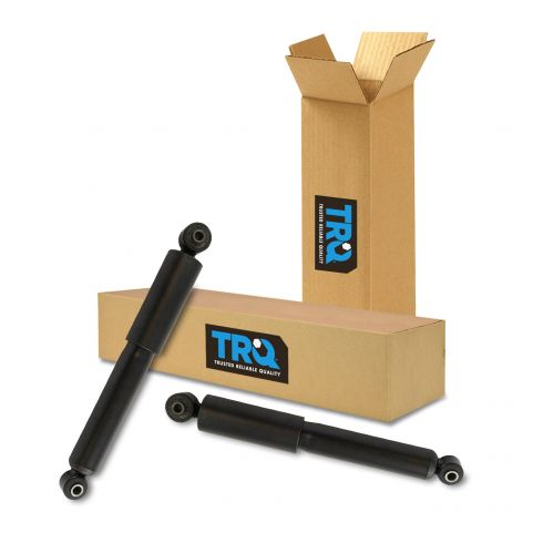 Pair Set of 2 Rear KYB Gas-a-just Shock Absorbers For Hyundai Elantra Veloster Kia Forte5 Rio
