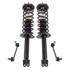 08-12 Honda Accord Rear Loaded Strut & Sway Link Kit (4pc)