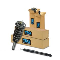 07-09 Kia Sorento Front Shock & Spring Assembly & Rear Shock Absorber Kit (4pc)