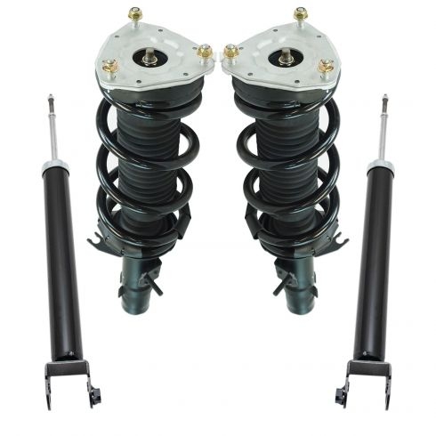 Front Complete Quick Loaded Strut Spring Assembly Drive Passenger Pair for xB