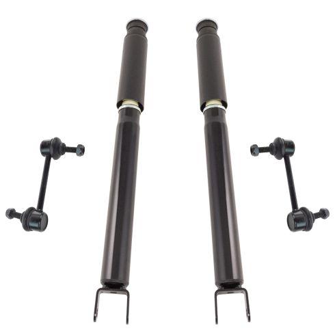 13-16 Ford Explorer Rear Shock Absorber w/ Links Kit (4pc)