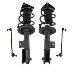 12-14 Sonata (wo Sport Susp) Complete Front Strut & Spring Assembly w/ Links 4pc