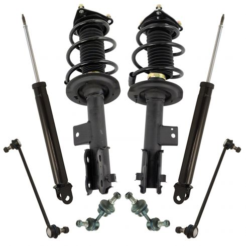 49JV84S Front Left Strut and Coil Spring Assembly Fits 2012-2014 Hyundai Sonata