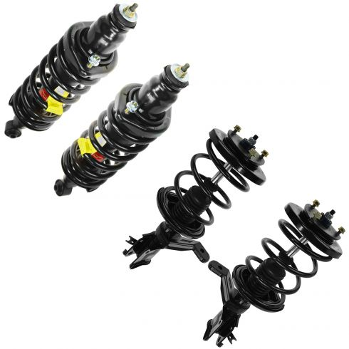 Monroe Front and Rear Suspension Strut and Coil Spring Assembly Kit