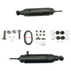 49-79 AMC, GM, Ford, Lincoln, Merc, Nash Multifit Rear Air Shock Absorber PAIR (Monroe Max-Air)
