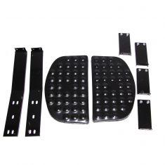 Side Step Kit, Black, Universal Application