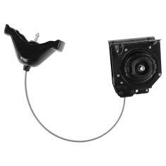 03-07 Silvrdo, Sierra 1500 HD Clsc; 11-15 2500, HD, 3500, HD SRW Spare Tire Carier & Hoist Assy (GM)