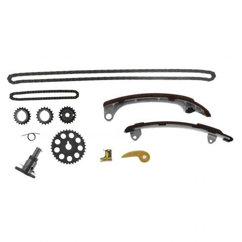 10-12 Lxs HS250H; 05-10 Scion tC; 08-13 xB; 01-12 Toyota Multifit w/2.4L Timing & Oil Pump Chain Kit