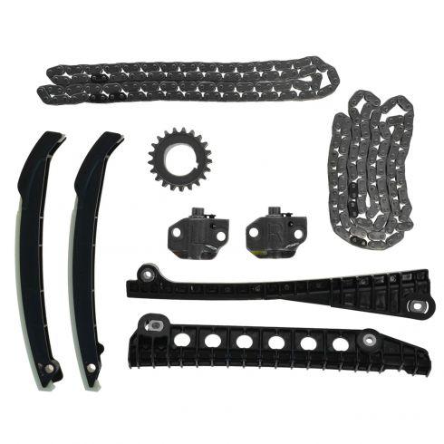 05-10 F150-F350SD; 05-13 Exptn, Navgtr; 09-13 E150-E350; 06-08 LT w/5.4L Complete Timing Chain Set