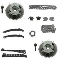 05-10 F150-F350SD; 05-13 Exptn, Navgtr; 09-13 E150-E350; 06-08 LT w/5.4L Tmng Chain Set (w/ Sprkts)