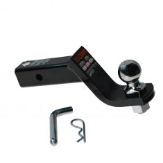 Loaded Tow Ball Mount 4 In Drop W/ 2 In Ball for 2 In Hitch(Curt)