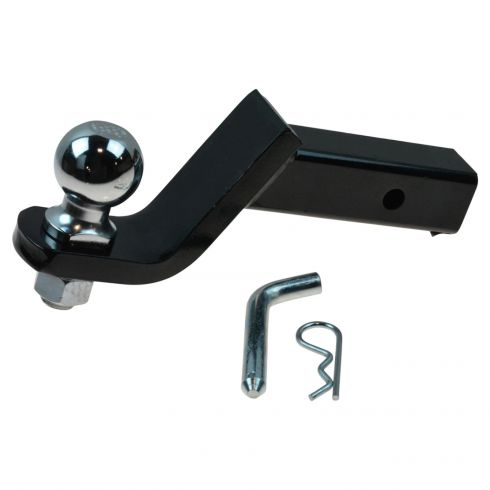 Loaded Tow Ball Mount 4 In Drop W/ 2 5/16 In Ball for 2 In Hitch (Curt)