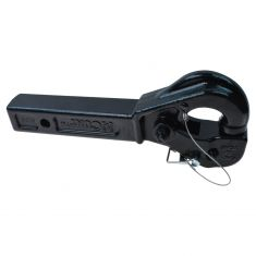 Receiver Mount Pintle Hook 10 Ton for 2 In Hitch (Curt)