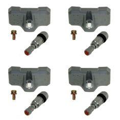 DORMAN Tire Pressure Monitor Sensor Kit Set of 4 for Ford Lincoln Mazda Mercury