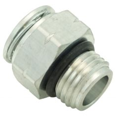 04-11 GM Multifit AT Line Quick Connector, AT Side -Short Fitting (3/8 In Tube x 9/16-18UNF Th) (DM)