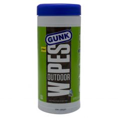 ~GUNK~ All-Purpose Outdoor Cleaning Wipes (30 Count (8 X 12 Inch 2-Sided Smooth or Scrubby Texture))