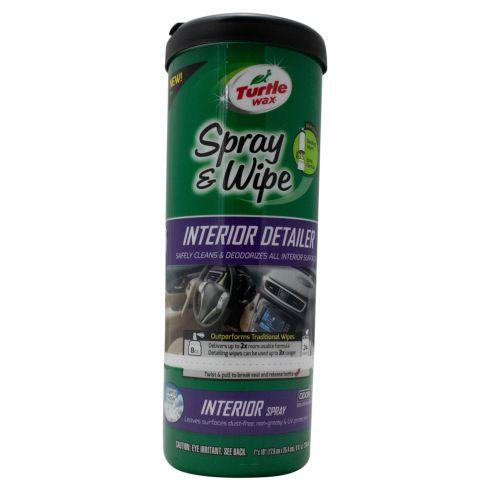Turtle Wax: Spray & Wipe Interior Detailer (24 Count)