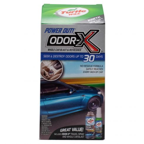 Turtle Wax: Power Out Odor-X Whole Car Blast Kit - Kinetic New Car