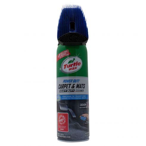 Turtle Wax: Power Out w/Oder-X Heavy Duty Carpet & Mats Spray Cleaner w/MicroScrub Brush (18 Fl OZ)