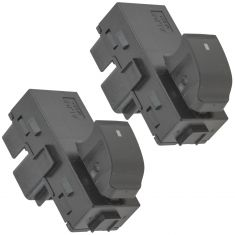 06-11 Lucerne; 07-13 GM Full Size PU, SUV Front Or Rear Single Window Switch Pair (GM)