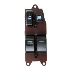 98-00 Toyota Sienna; 99-03 Solara Cpe; 00-10 Tundra Power Window Switch LF